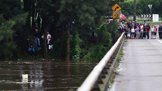 Windsor Bridge closed last year by flooding