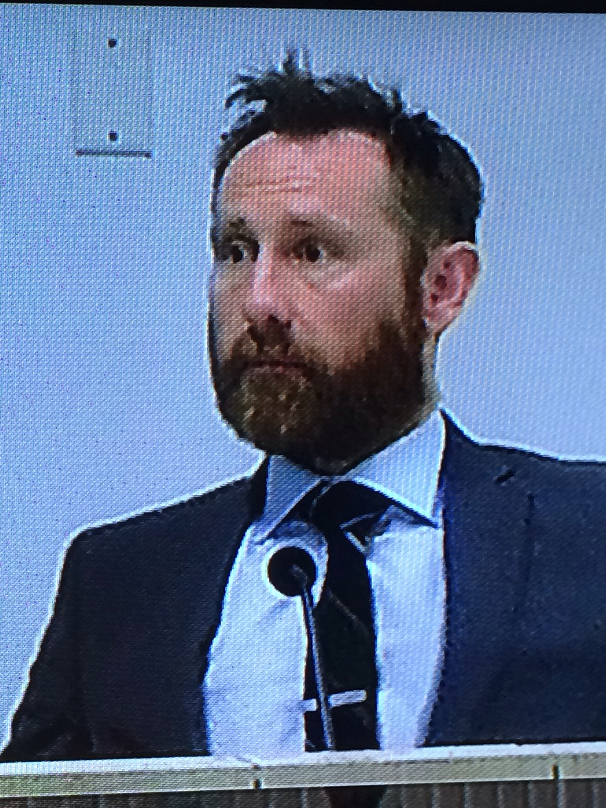 Stephen Donnelly on the stand and probably wondering why