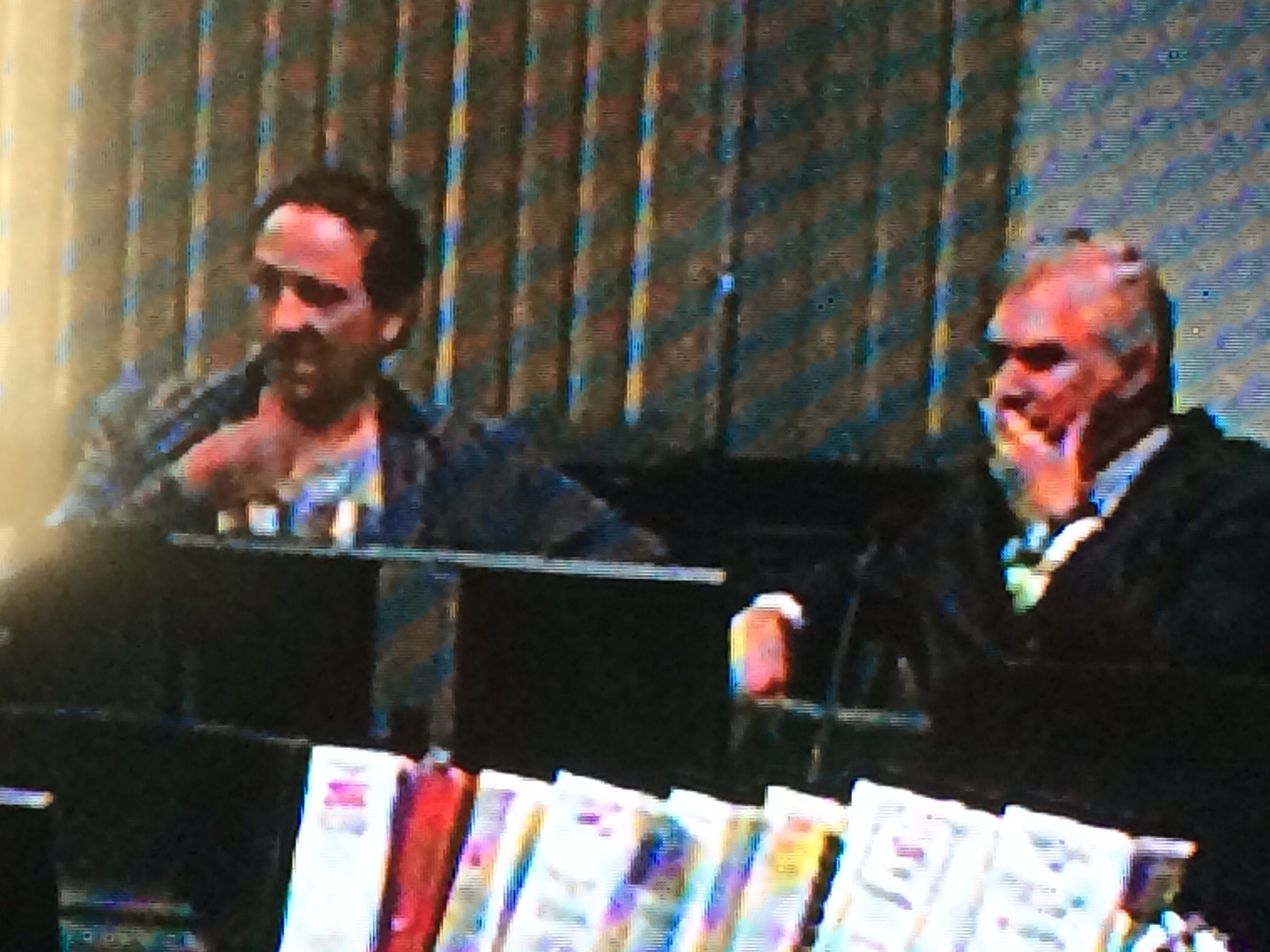 Bolano and Lawler watch on as Jackson testifies - Their faces tell the story