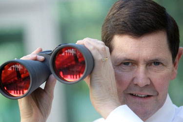 Watching the elderly and disabled, Kevin Andrews sees red