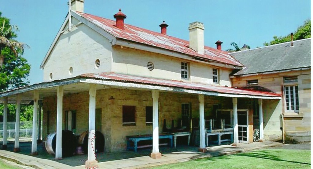 The 3rd Class Womens Dormitory built in 1818