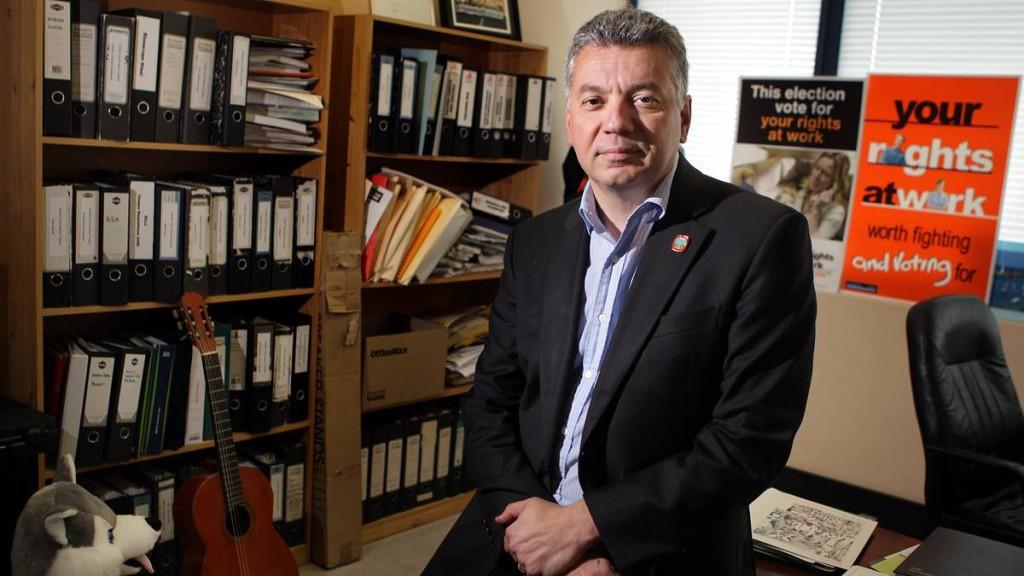 Arthur Rorris - A true labour movement representative Image - Illawarra Mercury