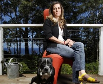 I sat by the ocean... Kathy doing it tough Image - Australian Financial Review