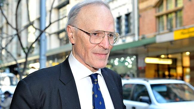 Dyson Heydon - Between a rock and a hard place  Image - News Ltd