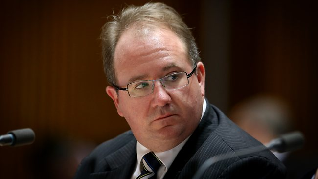 David Feeney watches his back Image - The Australian