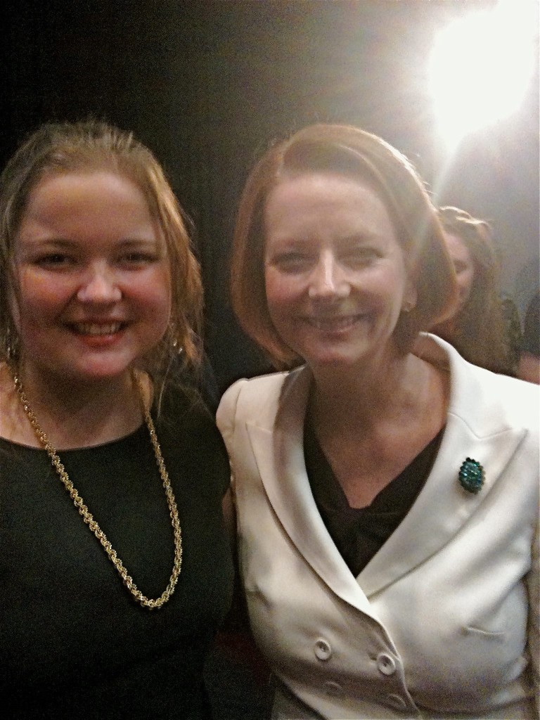 Jess & Julia - The PM meets a star